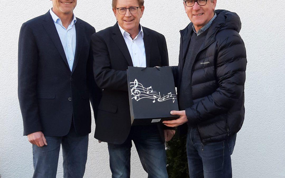 Dieter Kannengießer 25 Jahre Vorsitzender der Parteifreien im Landkreis